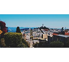 Lombard St Photographic Print