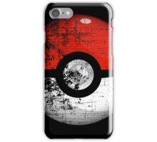 Destroyed Pokemon Go Team Red Pokeball iPhone Case/Skin