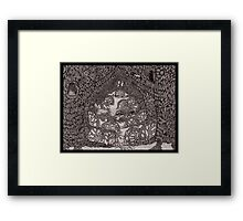 The Woods Musician Framed Print