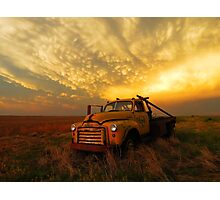 The Old Truck Photographic Print