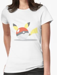 PikaBall Womens Fitted T-Shirt