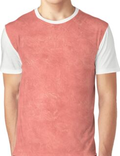 Coral Reef Oil Pastel Color Accent Graphic T-Shirt