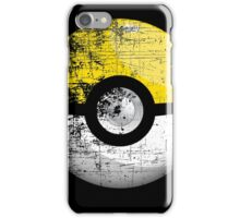 Destroyed Pokemon Go Team Yellow Pokeball iPhone Case/Skin
