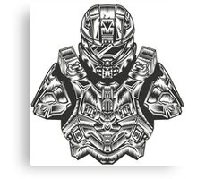 Master Chief Bust Canvas Print