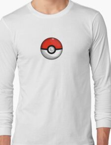 Pokemon Go Team Red Pokeball Long Sleeve T-Shirt