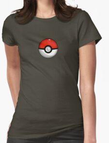 Pokemon Go Team Red Pokeball Womens Fitted T-Shirt