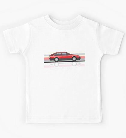 Alfa Romeo GTV6 Red Stripes Kids Tee