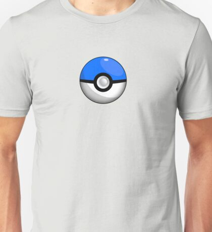 Team Blue Pokeball Unisex T-Shirt