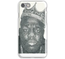 Biggie - Small words iPhone Case/Skin