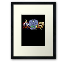 Justice Friends! Framed Print