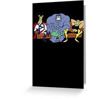 Justice Friends! Greeting Card