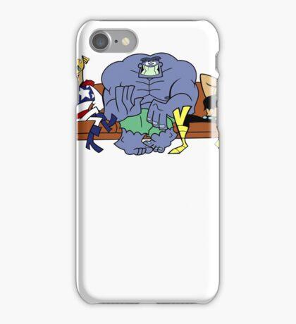 Justice Friends! iPhone Case/Skin
