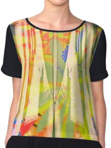 color Chiffon Top