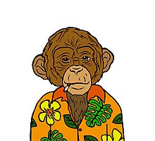 Hawaiian Ape Photographic Print