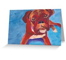 dog.  Greeting Card