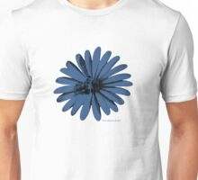 Daisy Bee Blue Unisex T-Shirt