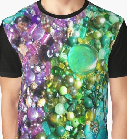 coloured beads Graphic T-Shirt