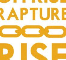 Rise Rapture Rise Sticker