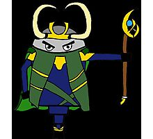 The NORSE God of Mischief  Photographic Print