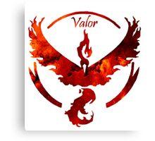 Team Valor Pokemon Go Gear Canvas Print