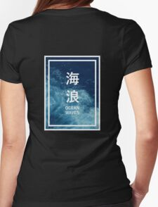 OCEAN WAVES Womens Fitted T-Shirt