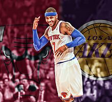 Carmelo Anthony Designs by DunkDesigns