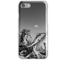 Crater Lake Pine Monochrome iPhone Case/Skin
