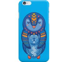 Mom and Baby Penguin together iPhone Case/Skin