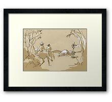 Outback Framed Print