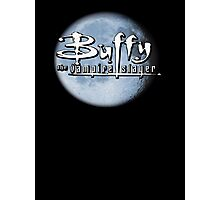 Buffy logo Photographic Print