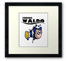 Finding Waldo Framed Print
