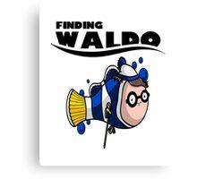 Finding Waldo Canvas Print