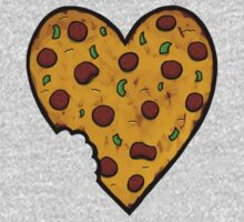 A Pizza My Heart One Piece - Long Sleeve