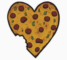 A Pizza My Heart Kids Tee