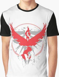 Pokemon Team Valor Shirts Graphic T-Shirt