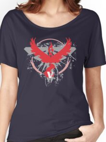 Pokemon Team Valor Shirts Women's Relaxed Fit T-Shirt