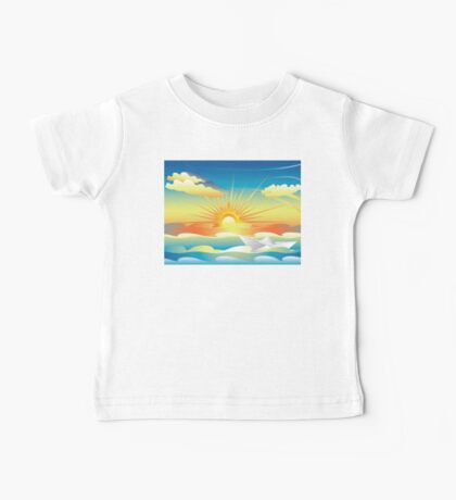 Paper Boat in the Sea 2 Baby Tee