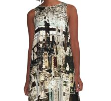 Liquor Bottles  A-Line Dress