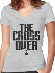 Uncle Drew - The Cross Over Women's Fitted V-Neck T-Shirt