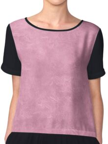 Orchid Smoke Oil Pastel Color Accent Chiffon Top