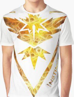 Team Instinct Pokemon Go Gear Graphic T-Shirt