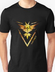 Team Instinct Pokemon Go Gear Unisex T-Shirt