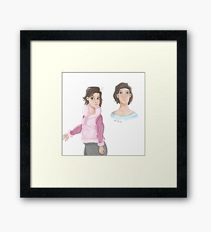 Disney Inspired Framed Print