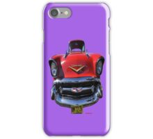 1957 Chevrolet Car T-shirt Design iPhone Case/Skin
