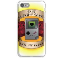 Quit Playing Games With My Heart iPhone Case/Skin