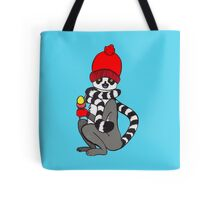 Lemur loves icecream Tote Bag