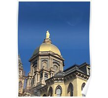Notre Dame Dome Poster