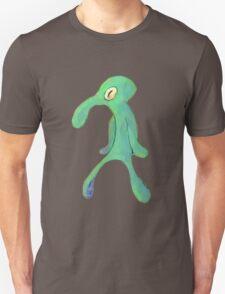 squidward bold and brash Unisex T-Shirt