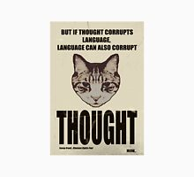 Orwellian Cat On Thoughts Unisex T-Shirt