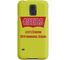 San Francisco 49ers Levi's Stadium with Text Samsung Galaxy Case/Skin